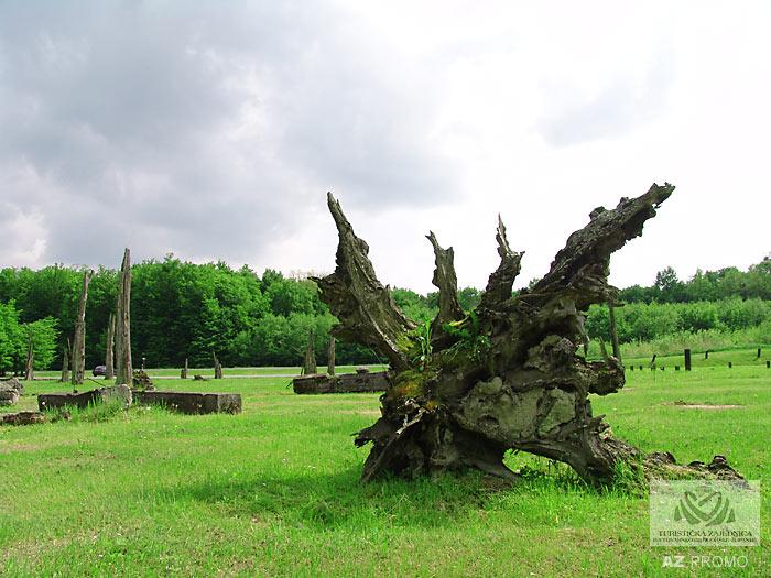 The memorial area Barutana