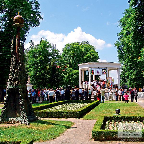 Bjelovar - central city park