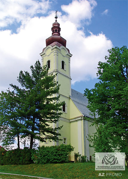 Church of the Visitation of the Blessed Virgin Mary - Garešnica