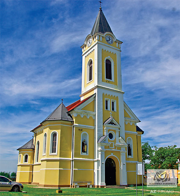 Church of the Assumption of the Blessed Virgin Mary, Končanica