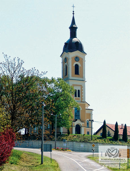Šandrovac - Church of the Visitation of the Blessed Virgin Mary