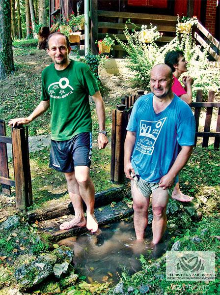 Pohajda's well, the ritual washing of the feet of members of HPD Bilogora
