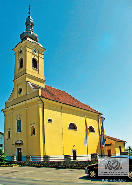 Veliki Grđevac - Parish Church of the Holy Spirit from 1832/33