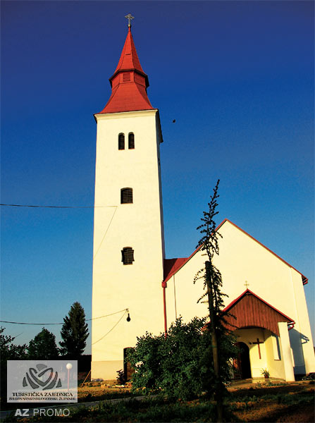 Velika Trnovitica - Church of St. Martin