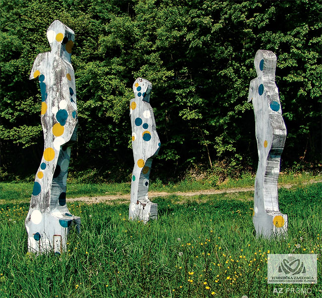 Svijetle pruge, outdoor sculpture gallery