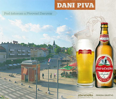 Days of beer in  Daruvar