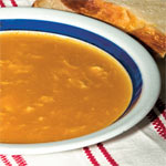 Browned flour soup